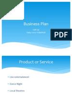 Unit 39 Business Plan
