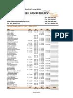 wholesale price list-june-july 2015