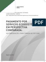 PAGAMENTO POR SERVIÇOS ECOSSISTÊMICOS EM PERSPECTIVA COMPARADA