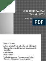 Plug Tmk 2015 Algoritma, Pseudokod & Carta Alir