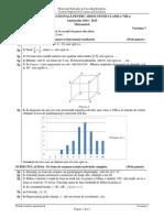 Evaluare Națională 201 5 Subiecte Matematică