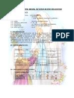 PROGRAMACIÓN ANUAL DE EDUCACIÓN RELIGIOSA 4º.docx
