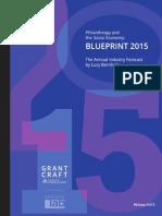 Blueprint 2015 ES&Philantropy