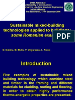 Sustainable Mixed-building Technologies Applied to Buildings