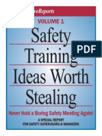 Safety Training Ideas Worth Stealing