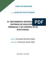 El Tratamiento Antiepiléptico - Criterios de Selección y Control de Su Efectividad