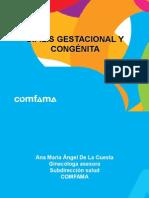 Sifilis Gestacional y Congénita COMFAMA