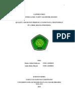 Laporan PKLI Kelompok