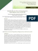 Identificação dos Níveis de Degradação de Matas Ripárias com o Uso de SIG