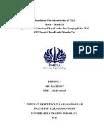 Penelitian Tindakan Kelas (PTK) IRAH – IRAHAN