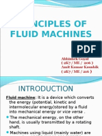 Basic Equation of Energy in Fluid Machines
