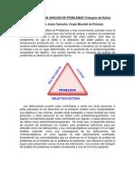 Triangulo de analisis