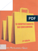 GIGLIO, Ernesto Michelangelo - O Comportamento Do Consumidor