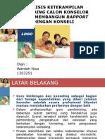 ANALISIS KETERAMPILAN ATTENDING CALON KONSELOR DALAM MEMBANGUN RAPPORT.pptx