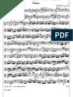 Sonata Nº1 Kreutzer for Violin & Cello/Bass (Violin part)
