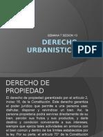 Derecho Urbanistico Semana 7 Sesion 13 Pptx
