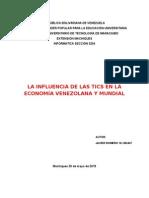Tics y La Economía en Venezuela