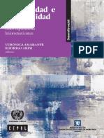 Desigualdad e informalidad Un análisis de cinco experiencias latinoamericanas