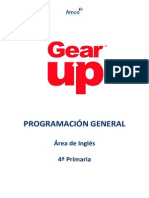 Pga Cuarto Primaria Gear Up