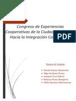 Congreso de Experiencias Cooperativas de La Ciudad de México