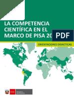 Competencia Ciencias Pisa 2015
