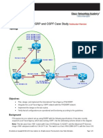 Ccnpv6 Route Lab4-4 Eigrp Ospf Case Study Instructor