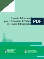 Protocolo Intervención para el Tratamiento de Víctimas-Testigos en el marco de procesos judiciales