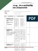Borang Analisis Ujian Diagnostik Bm