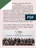 ¿DEL PACTO POR MÉXICO A LA AGENDA LEGISLATIVA?