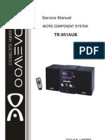 DAEWOO Microcomponente TR-951AUB