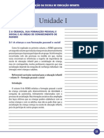 Estrutura e Organização Da Escola de Educação Infantil Uni 2