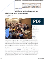 23-06-15 Equipo de transición de Maloro integrado por gente de varios ex gobernadores