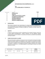 MP FE013 Criterios Aplicación 17043