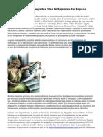 Los Despachos Y Abogados Mas Influyentes De Espana