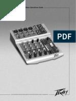 Pv6 Manual consola peavey