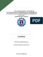Prospeccion Geoelectrica Con Fines de Captacion de Agua Subterranea en El Predio Deagricultores Luis Felipe de Las Casas