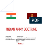 indian army doctrine