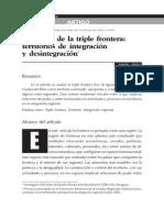 LA REGION DE LA TRIPLE FRONTERA - RAMON FOGEL - PORTALGUARANI