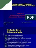 Sesion 1 Psicopatologia UAP