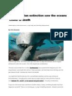 The Devonian Mass Extinction