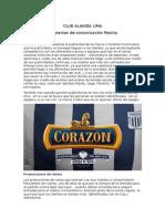 Club Alianza Lima Trabajo 6