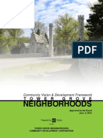 Community Vision and Development Framework for the Tower Grove Neighborhoods - St. Louis, MO