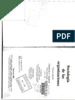 Libro Sociologia de La Organizacion