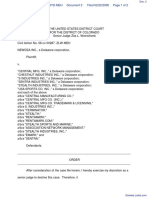 NEWDEA Inc. v. Central Mfg. Inc. et al - Document No. 2