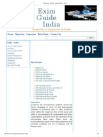 Incoterms - Export - Import Guide - India