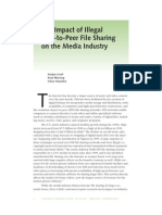 The Impact of Illegal Peer-To-Peer File Sharing on the Media Industry