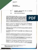 Solicitud del abogado Jaime Granados en el proceso por la muerte de Jairo Alberto Zapa