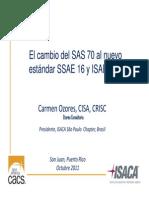 SSAE 16- ISAE2402