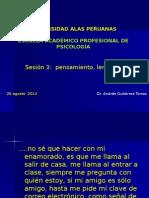 Sesion 3 Psicopatología
