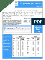 Consumer Price Index - Apr 15